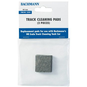 Bachmann Ho Track Cleaning Replacement Pads (2) # 16949