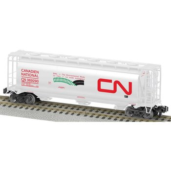 American Flyer Canadien National Cylindrical 3 Bay Hopper # 6-48863