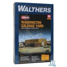 Walthers HO Washing Salvage Yard # 933-2928