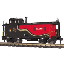 MTH G Offset Steel Caboose - Norfolk Southern (First Responders) # 70 -77038