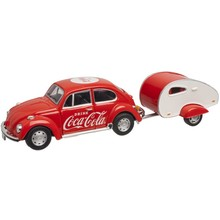 Atlas O Coca-Cola 1967 Volkswagen beetle with Trailer # 820060