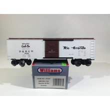 Used Williams O 40' Denver & Rio Grande Boxcar # 47037