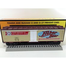 Used MTH 0-27 Fisher Beer Reefer Car # 30-7850