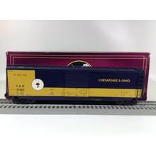 Used MTH O Chesapeake & Ohio 50' PS-1 # 21463 Boxcar # 20-93623