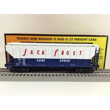 Used MTH O  Jack Frost PS2 Discharge Hopper Car # 30-75421