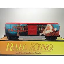 MTH O-27 Santa Christmas 2017 Boxcar # 30-74890