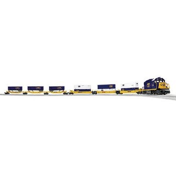 Lionel O  CSX Intermodal LionChief Set # 6-83974