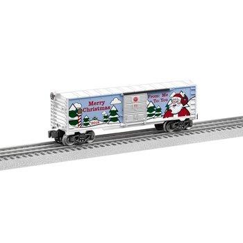 Lionel O 2018 Christmas Boxcar # 6-84747