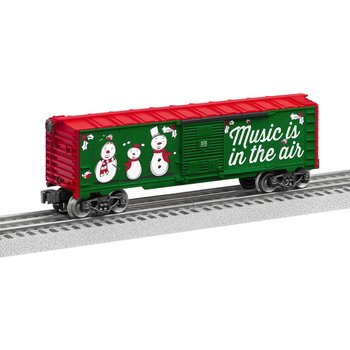 Lionel O Christmas Music Boxcar # 6-84748