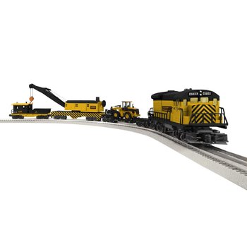 Lionel O Construction Railroad LionChief Set # 6-84737