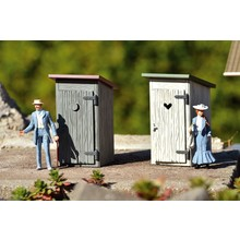 PIKO G Outhouse 2-Pack Built-Up # 62719