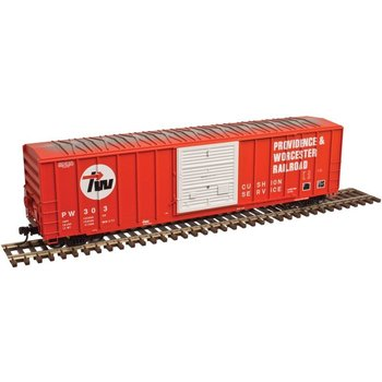 Atlas N Scale Providence & Worcester # 323 Boxcar # 50003435