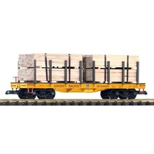 Piko G Union Pacific Flatcar w/ Lumber Load # 38757