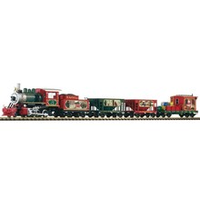 Piko G Christmas Freight Starter Set w/Analog Sound & Smoke Set # G 38122