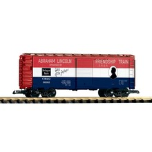 Piko G CB&Q Friendship Train Boxcar # 38885