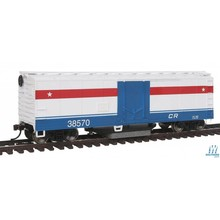 Walthers HO Track Cleaning Conrail Boxcar # 931-1484