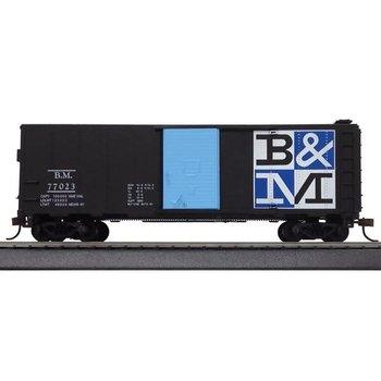 Mantua Mantua HO Boston & Maine 41' Steeel Refrigerator Car # 734530