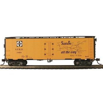 Mantua Mantua HO Santa Fe 41' Steeel Refrigerator Car # 733001