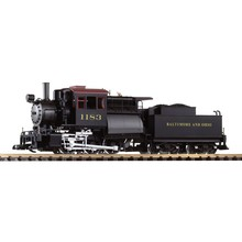 PIKO G Scale B&O Camelback 0-6-0 Steam Loco with sounds # 38245