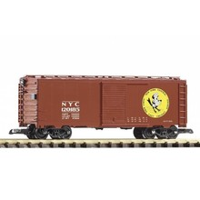 PIKO G New York Central #120185 Early Bird Steel Boxcar # 38874