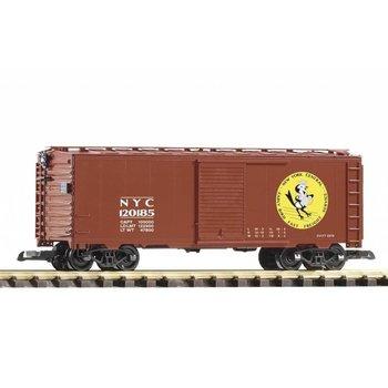 PIKO G New York Central #120185 Early Bird Steel Boxcar # 38874
