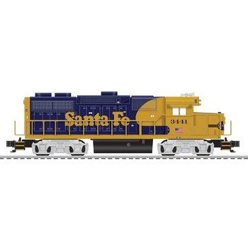 Lionel O Bluetooth Santa Fe LionChief Plus GP38 Diesel Loco #832 # 6-84938