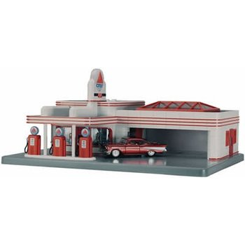 MTH Trains MTH O Citgo Opearting Gas Station # 30-9113 #TOT93