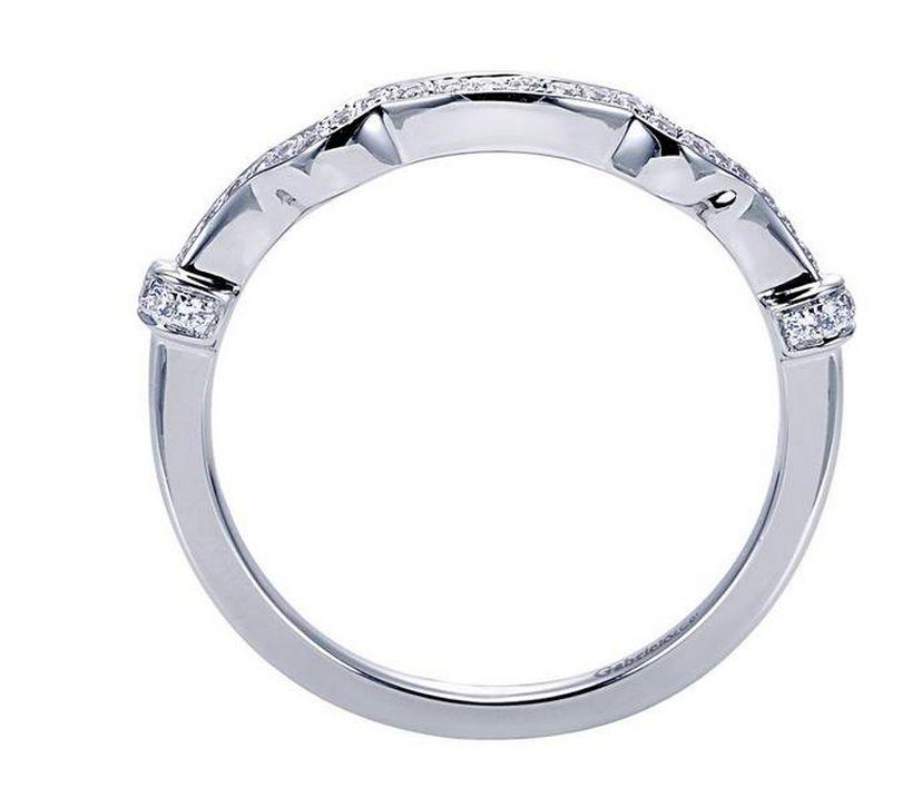 Gabriel & Co ER7479 Vintage Glamorous Engagement Ring