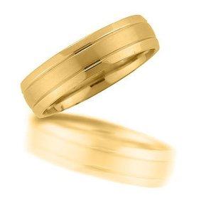N00150 6mm brushed wedding ring