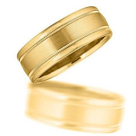 N00193 gents wedding band