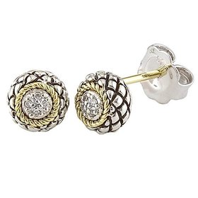 ACE63 Gold & Silver Earrings