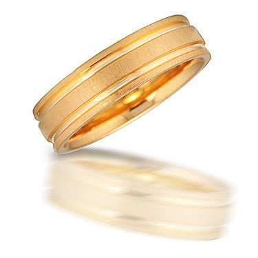 Novell N00907 yellow gold band