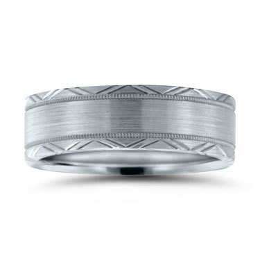 Novell N16735 brushed wedding band