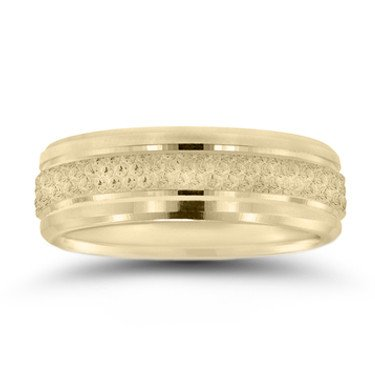 Novell N16673 gents beaded wedding band