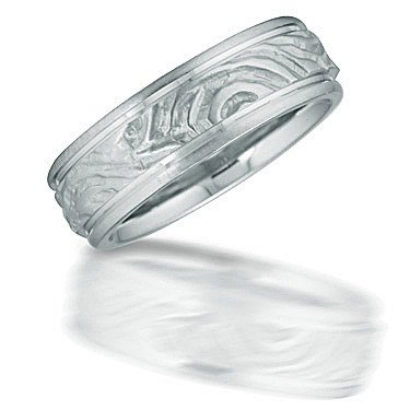 Novell N03077 carved design men's wedding ring