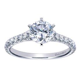ER7430 diamond accent ring