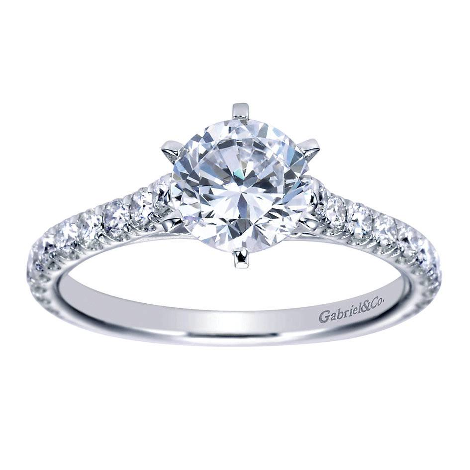 Gabriel & Co ER7430 diamond accent ring