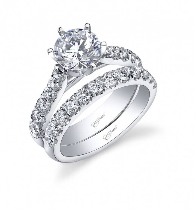 WC591 diamond wedding band