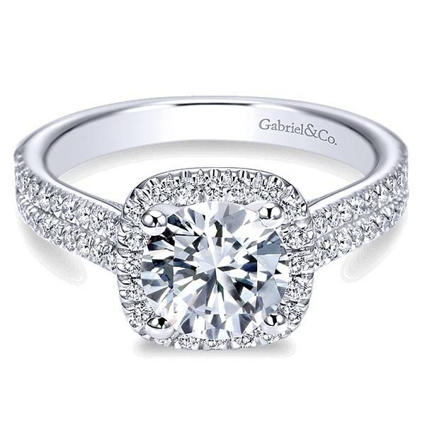 ER6984 Brianna 0.45ct. 6.5mm.