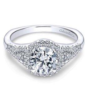 ER4179 Reagan halo engagement ring