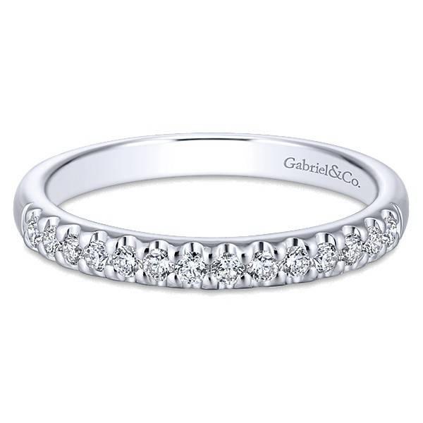 Gabriel & Co AN5335 diamond band