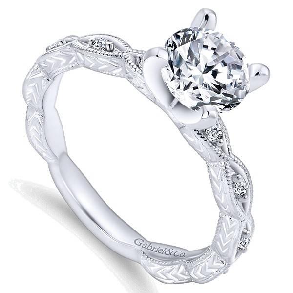 Vintage Diamond Accent ER4122