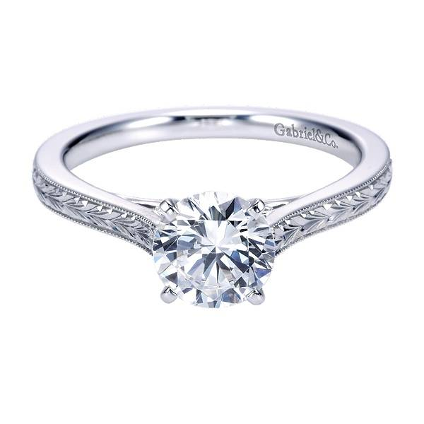ER7222 Engraved Solitaire