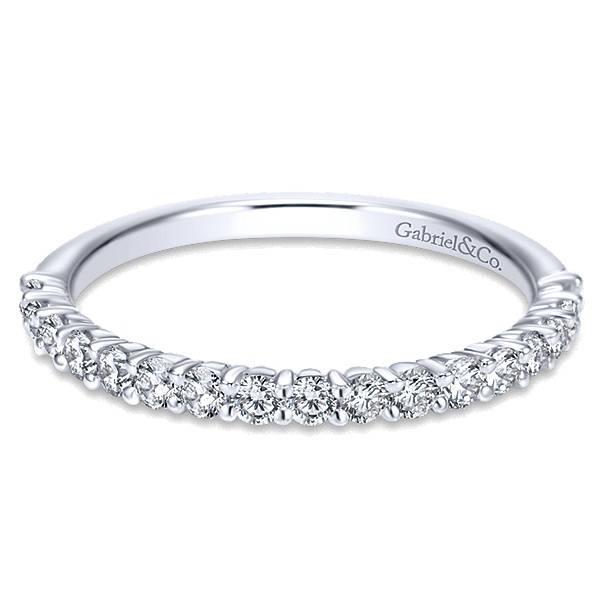 Gabriel & Co WB7498 diamond wedding band