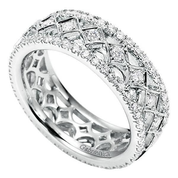 Gabriel & Co AN6027 diamond eternity band
