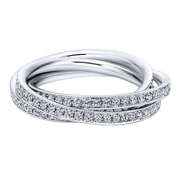 AN6039 overlapping loop eternity band