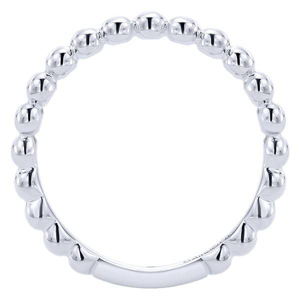 Gabriel & Co LR4871 white gold ball band