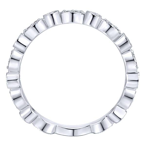 Gabriel & Co LR5701 diamond alternating band