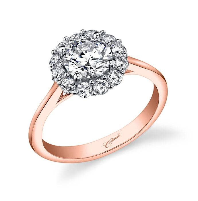 Coast LC5205 Rose Gold Halo