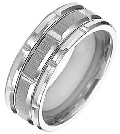 Triton 11-4127 tungsten wedding ring